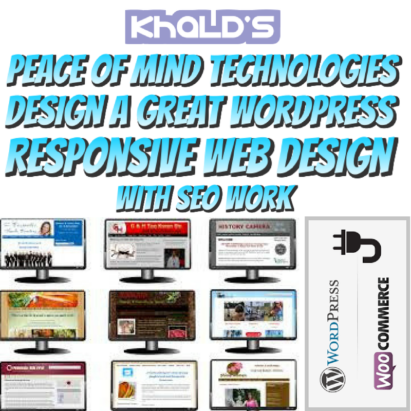 DESIGN PROFESSIONAL WORDPRESS WEBSITE
