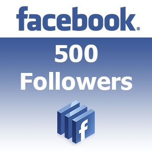 give 500 Facebook followers