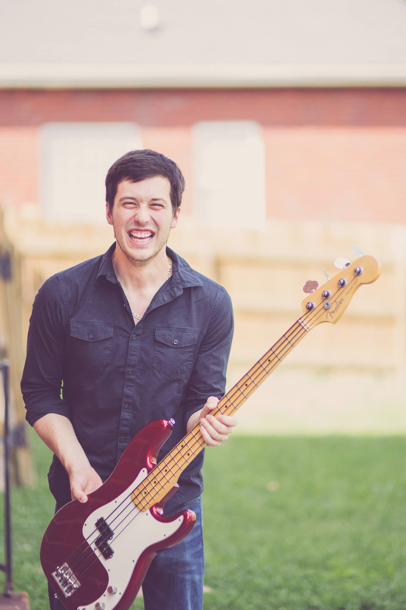 record a bass guitar track for your song