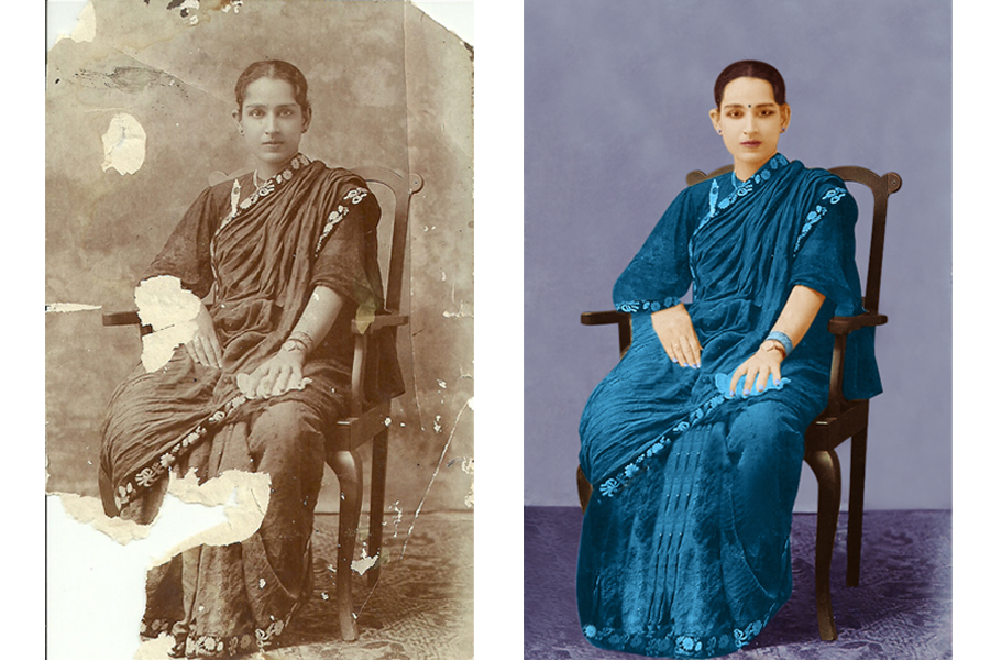 restore your old & Damaged photos