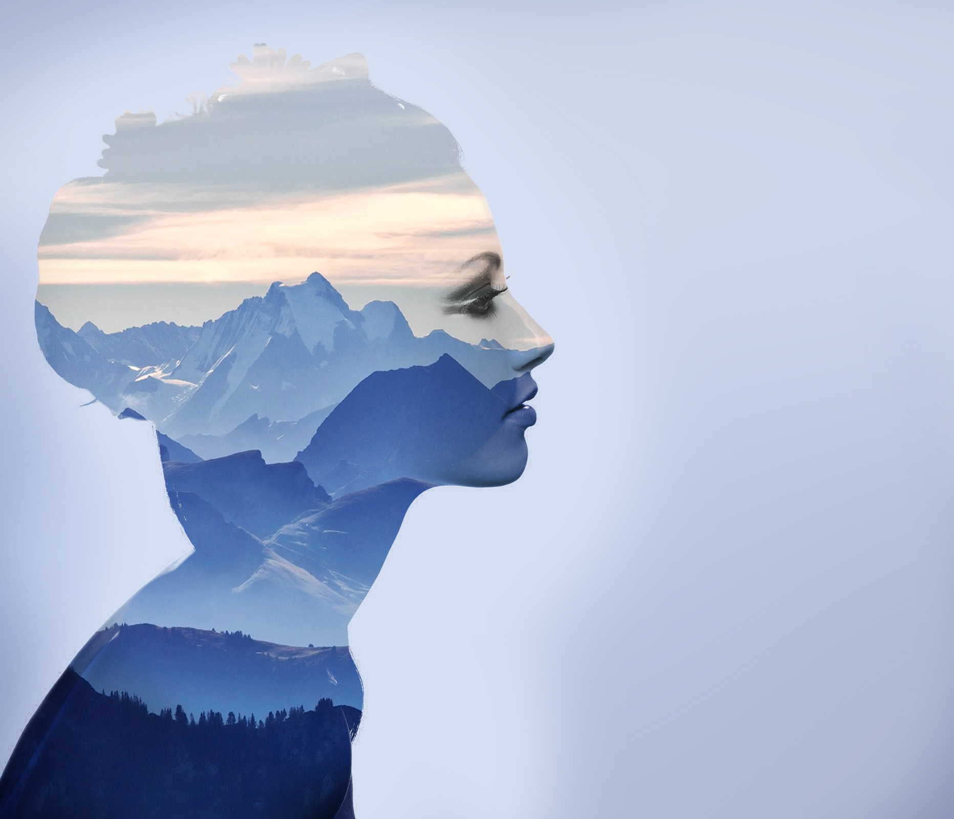 make a double exposure image for you