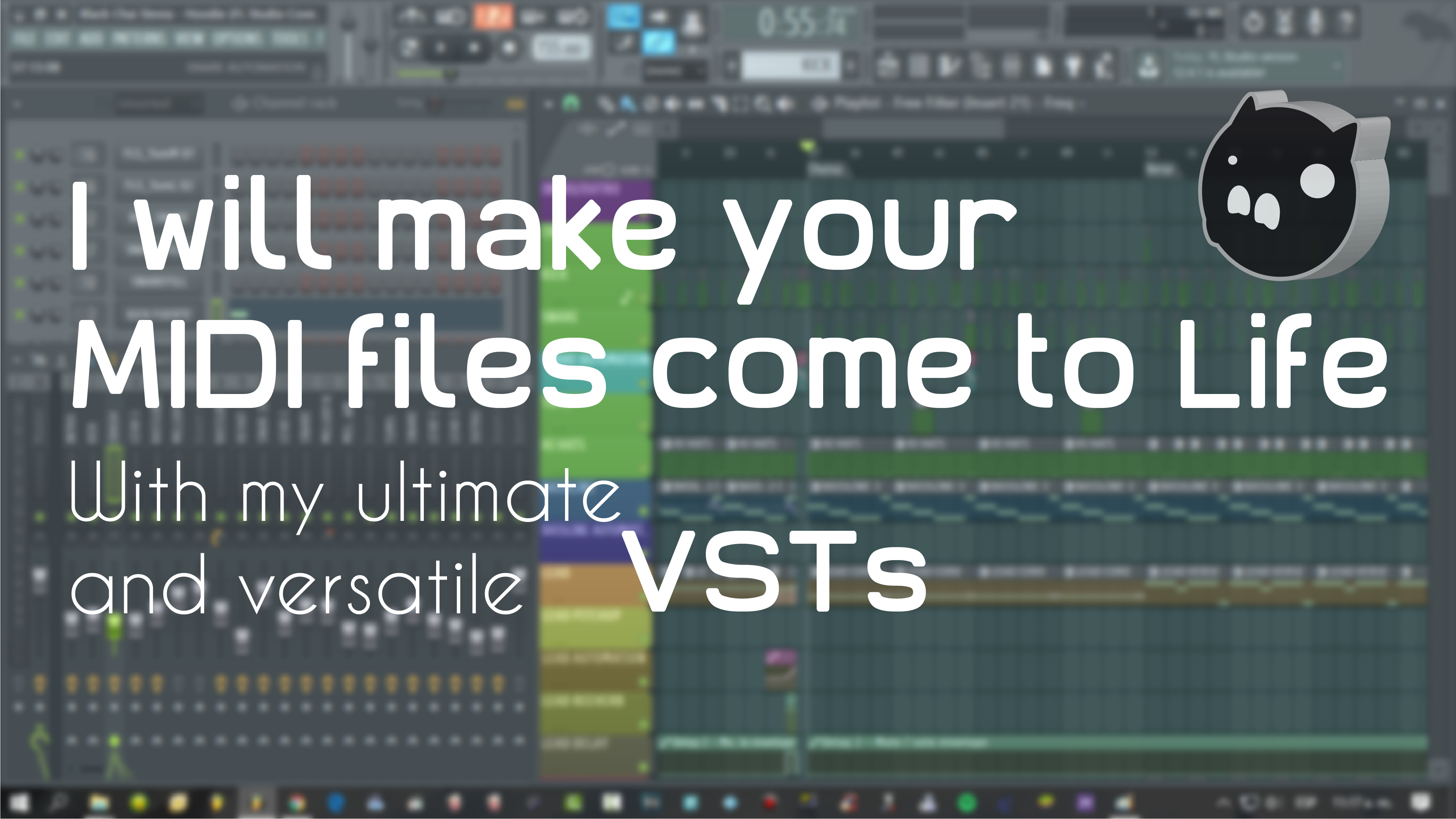make your MIDI files come to life with my incredible VSTis