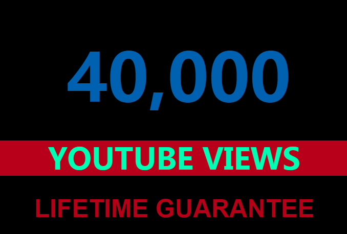 20000 Guaranteed Youtube views +300 likes