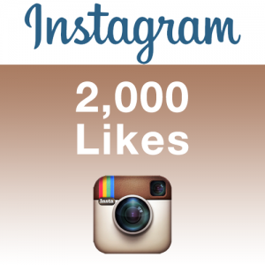 Provide 2,000 Instagram Likes