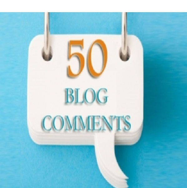 do 50 blog comments related to your blog