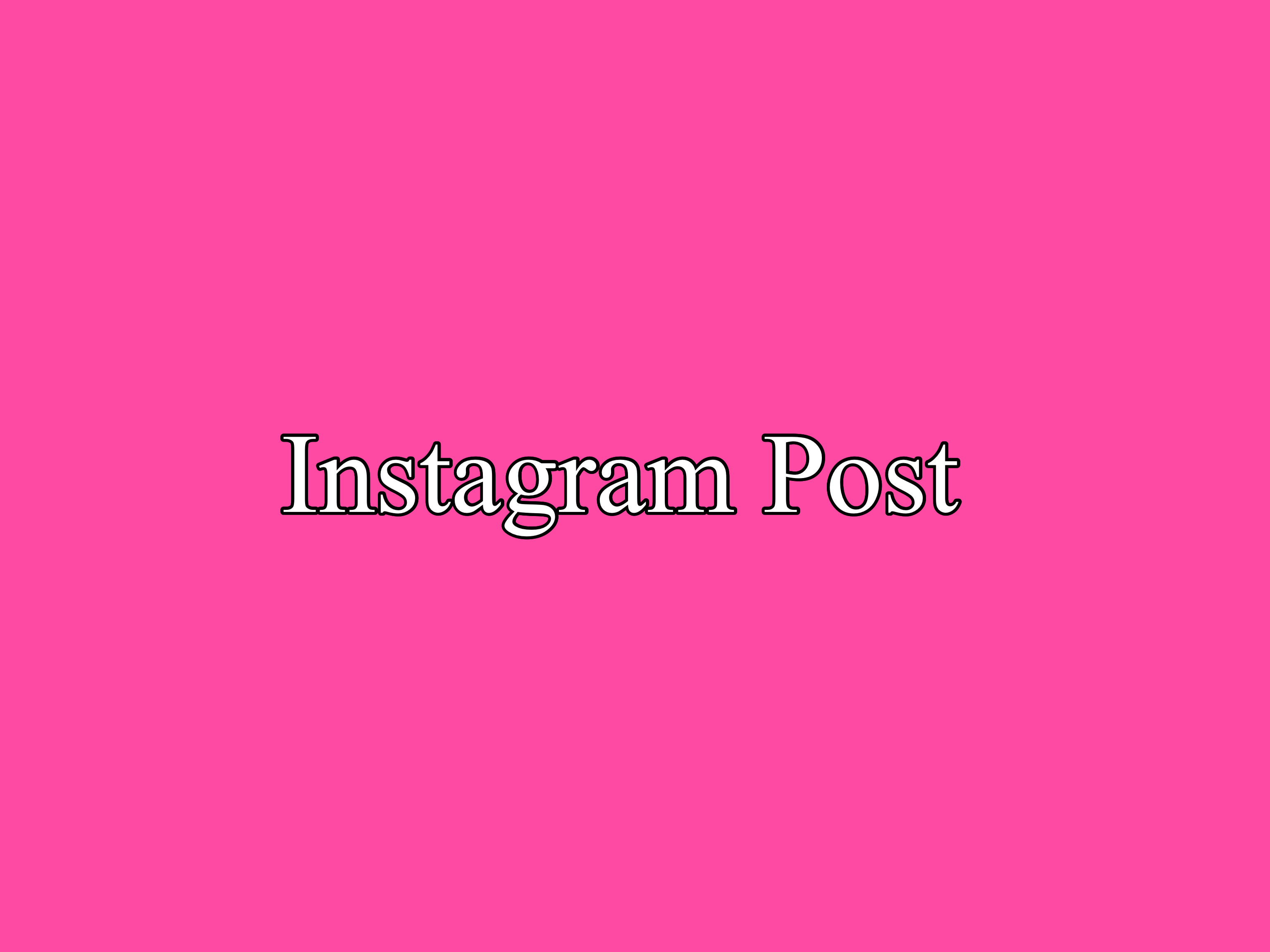 Post About your product and services on Instagram