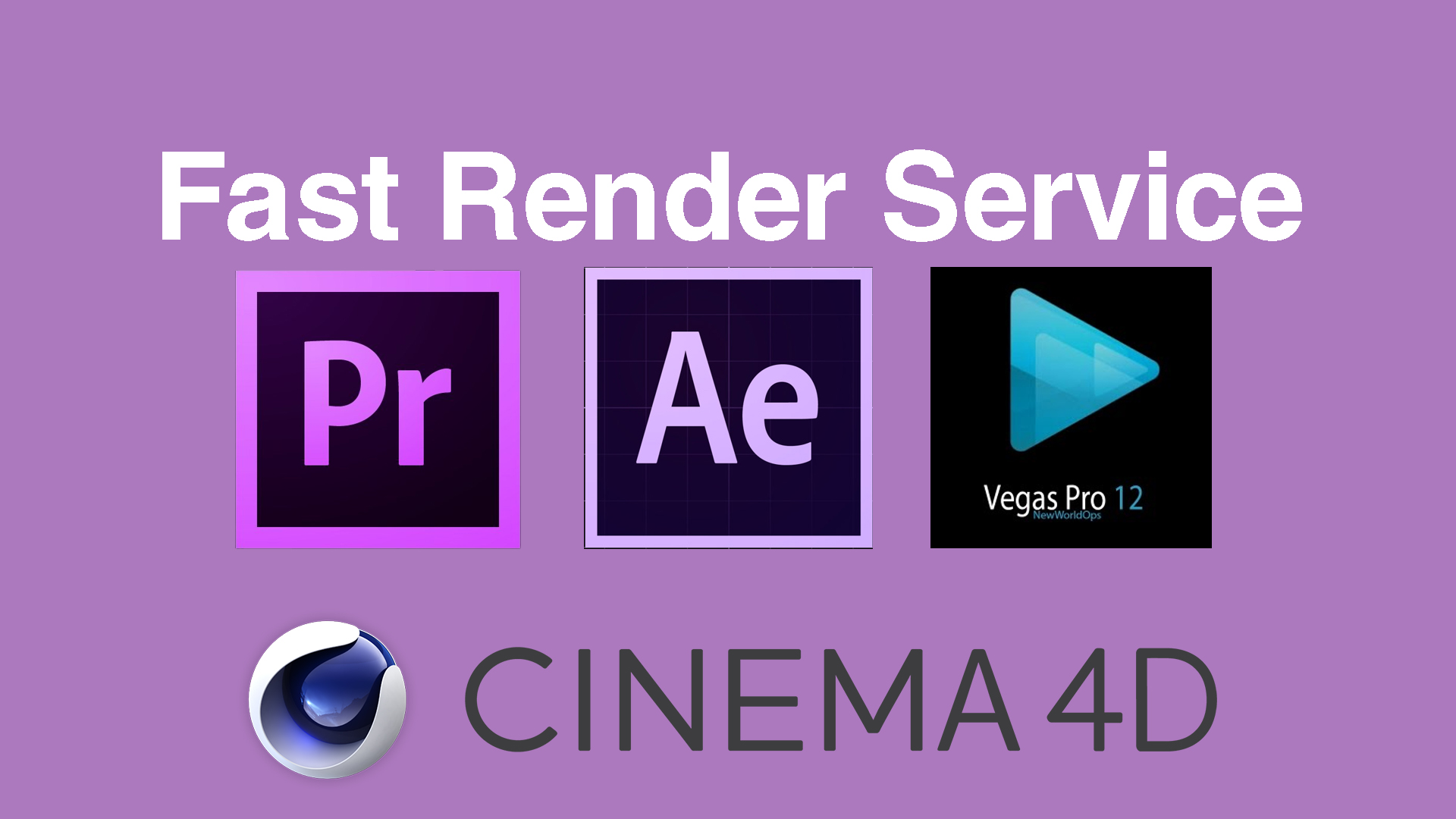 render your video projects fast