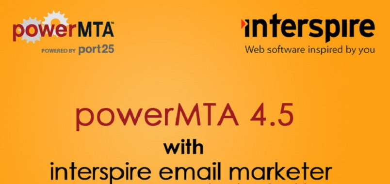 Install Private SMTP Mail Server with Power MTA and Interspire