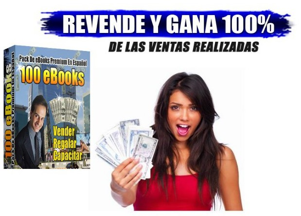 give you a 100  spanish eBOOKS with Resell Rigths