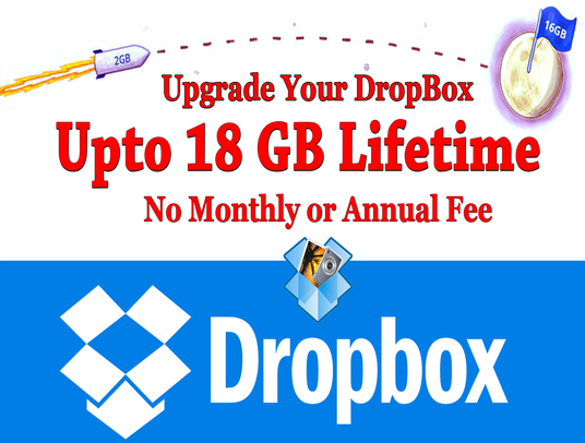 help you to expand your dropbox to 16 GB