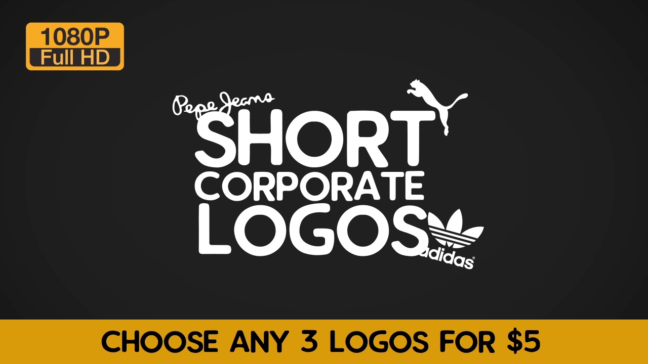 create 3 logo animation