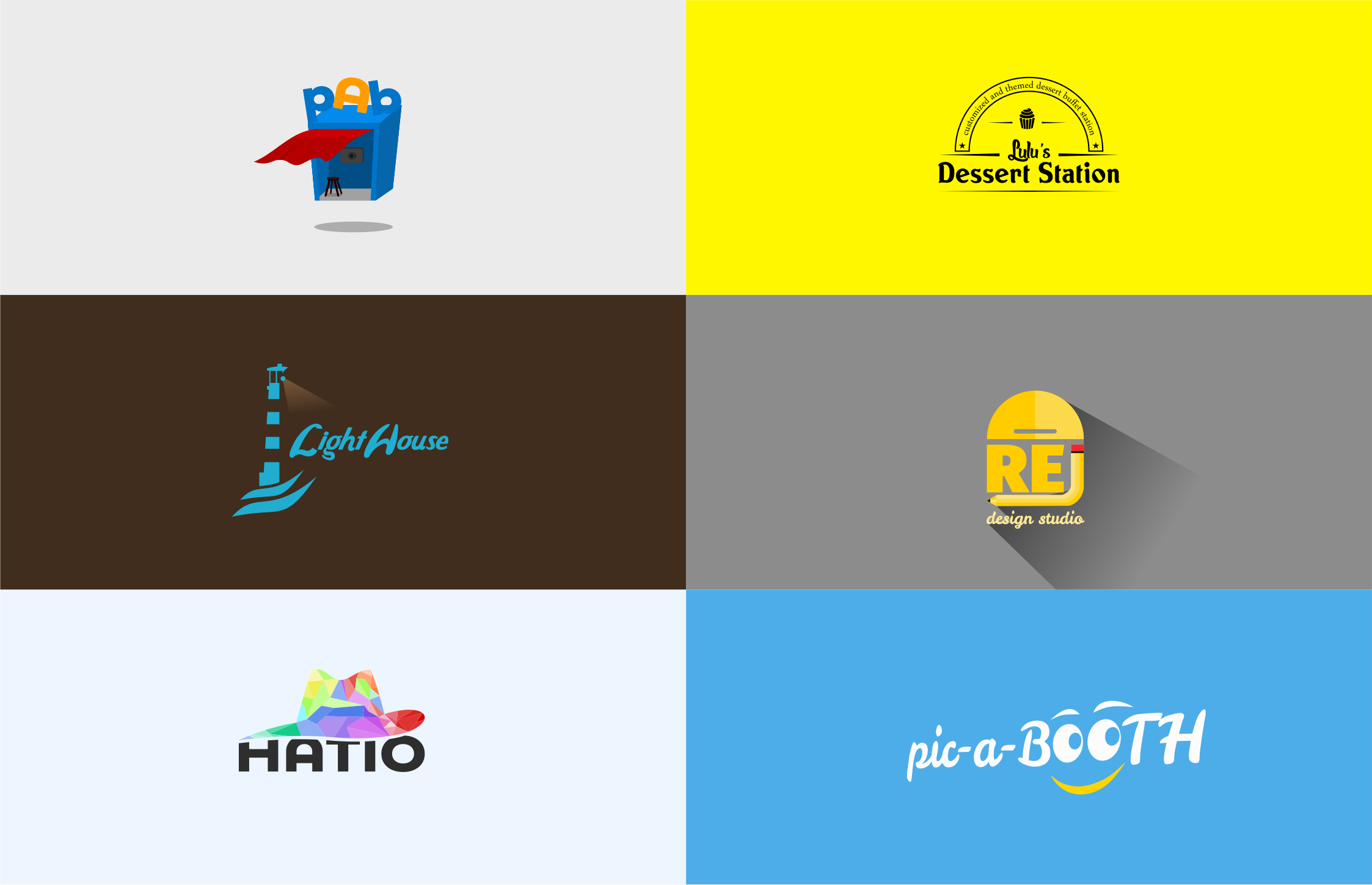 create a logo that best fit with your needs