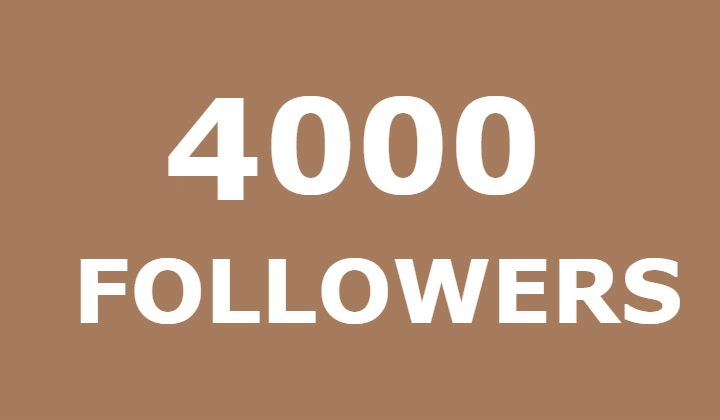 4000 instagram Followers or 100000 instagram views or 50000 likes