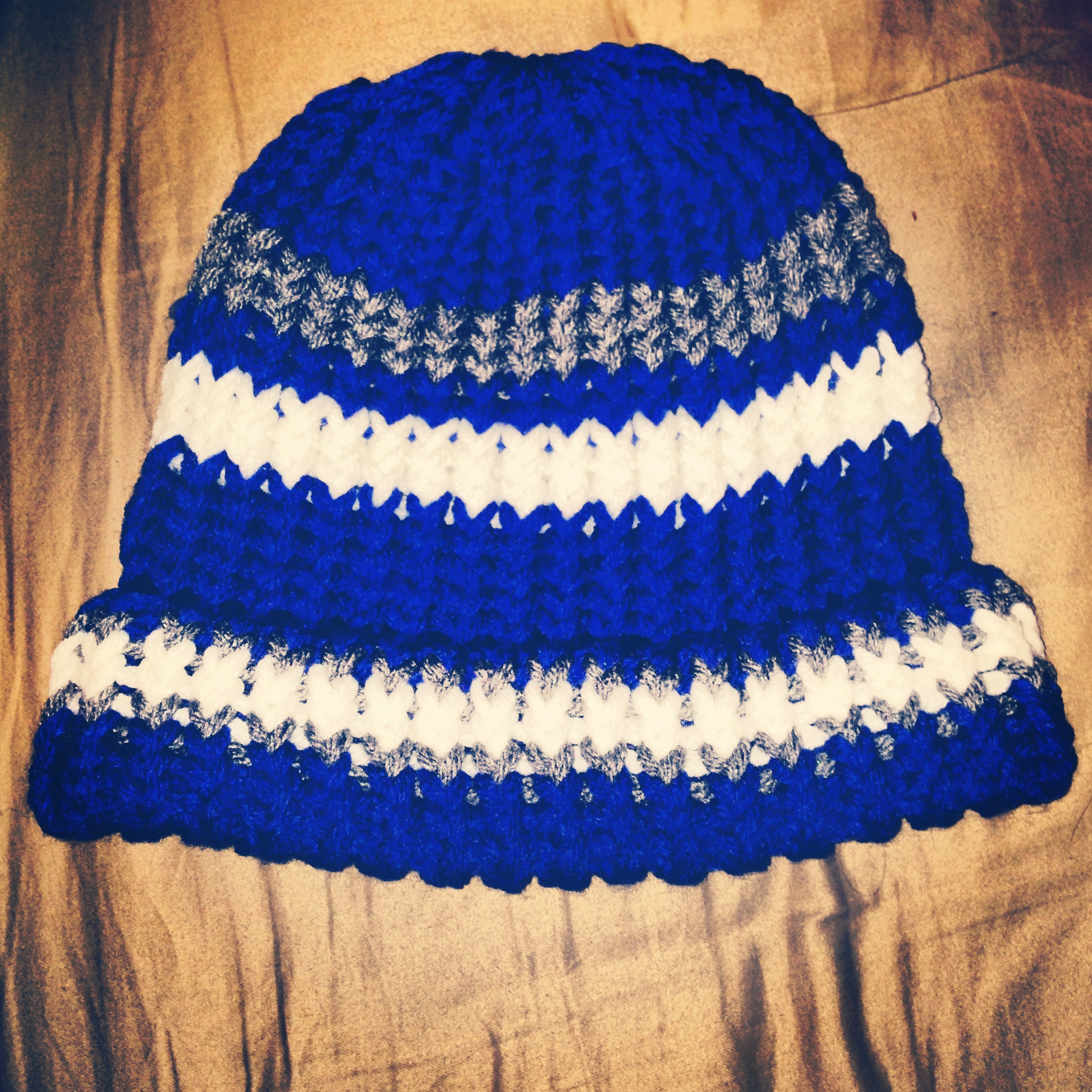 you a one of a kind handknit beanie