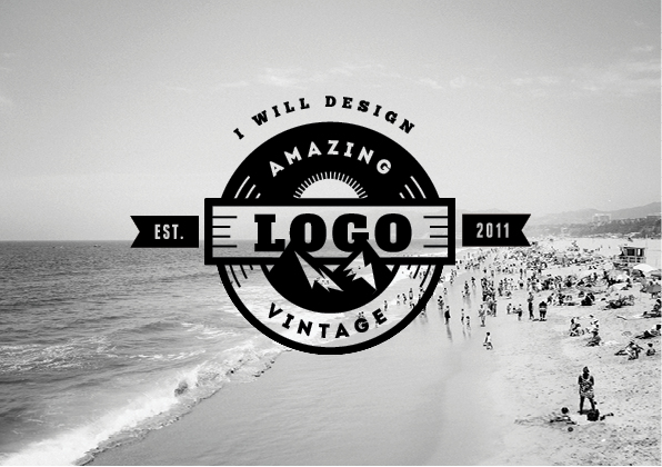 design unique vintage logo