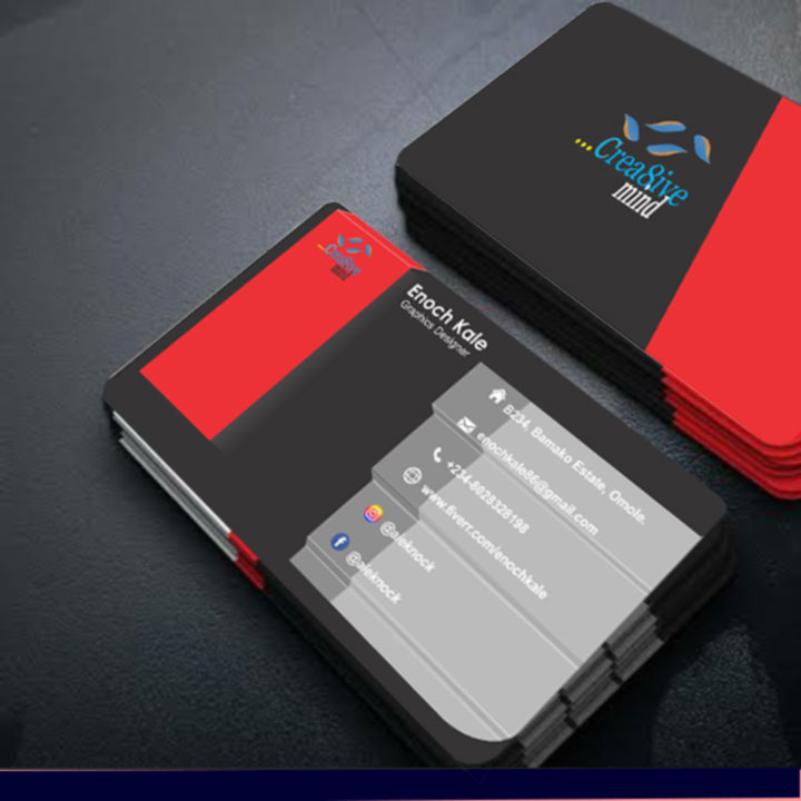 design your business card within 24 hours