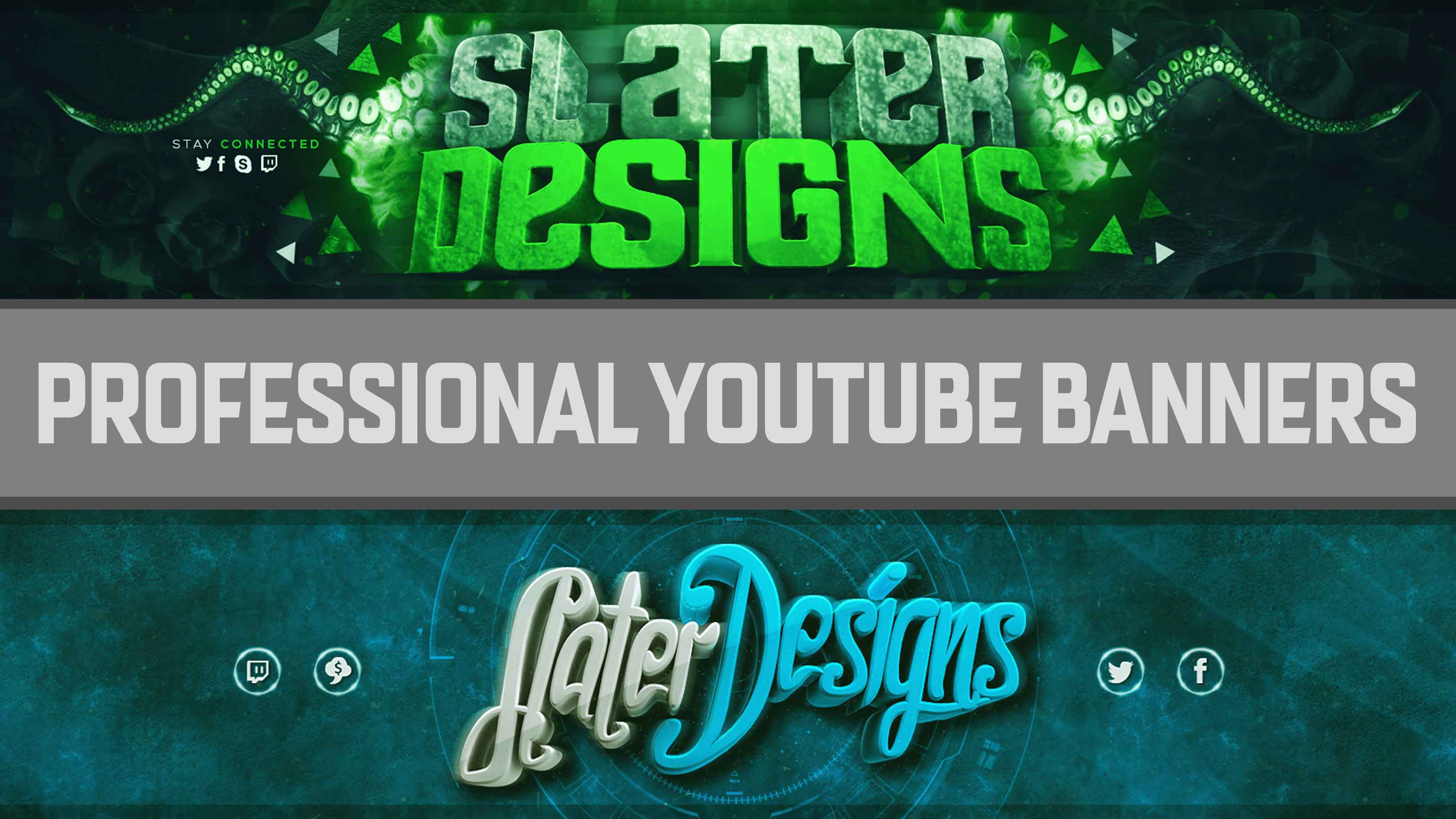 Design An EPIC YouTube Banner