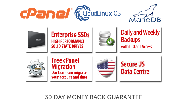 Provide Fully Managed CPanel Web Hosting For One Year