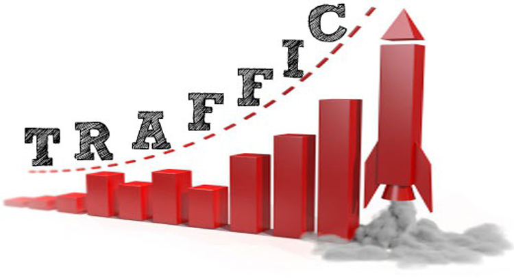 400000 traffic on your website