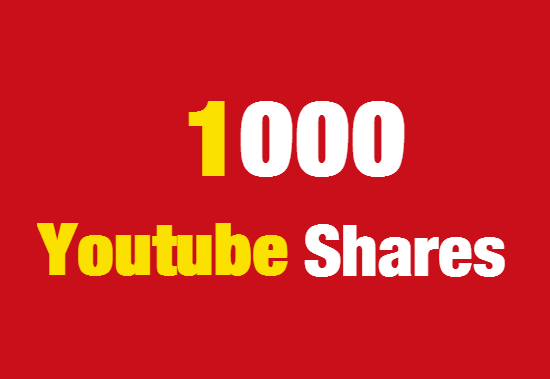 1000 Youtube Shares