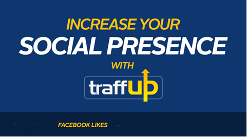 give you a brand Traffup Account with 5000 FaceBook Points