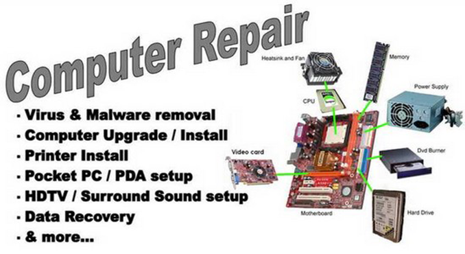 repair your computer if you need assistance