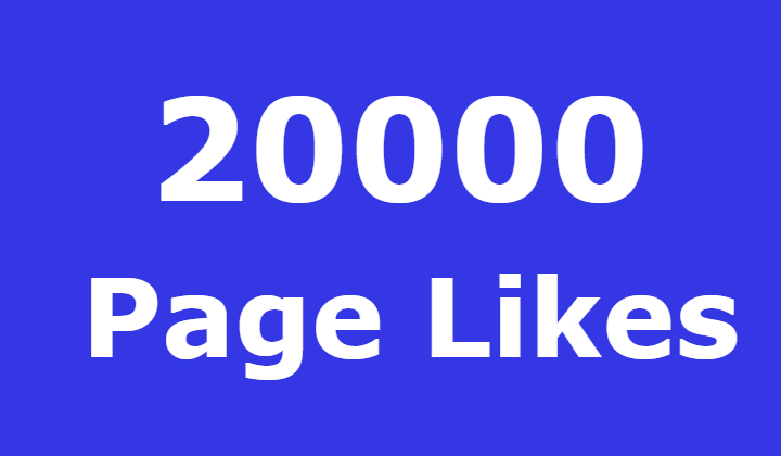 20000 Facebook Fanspage Likes