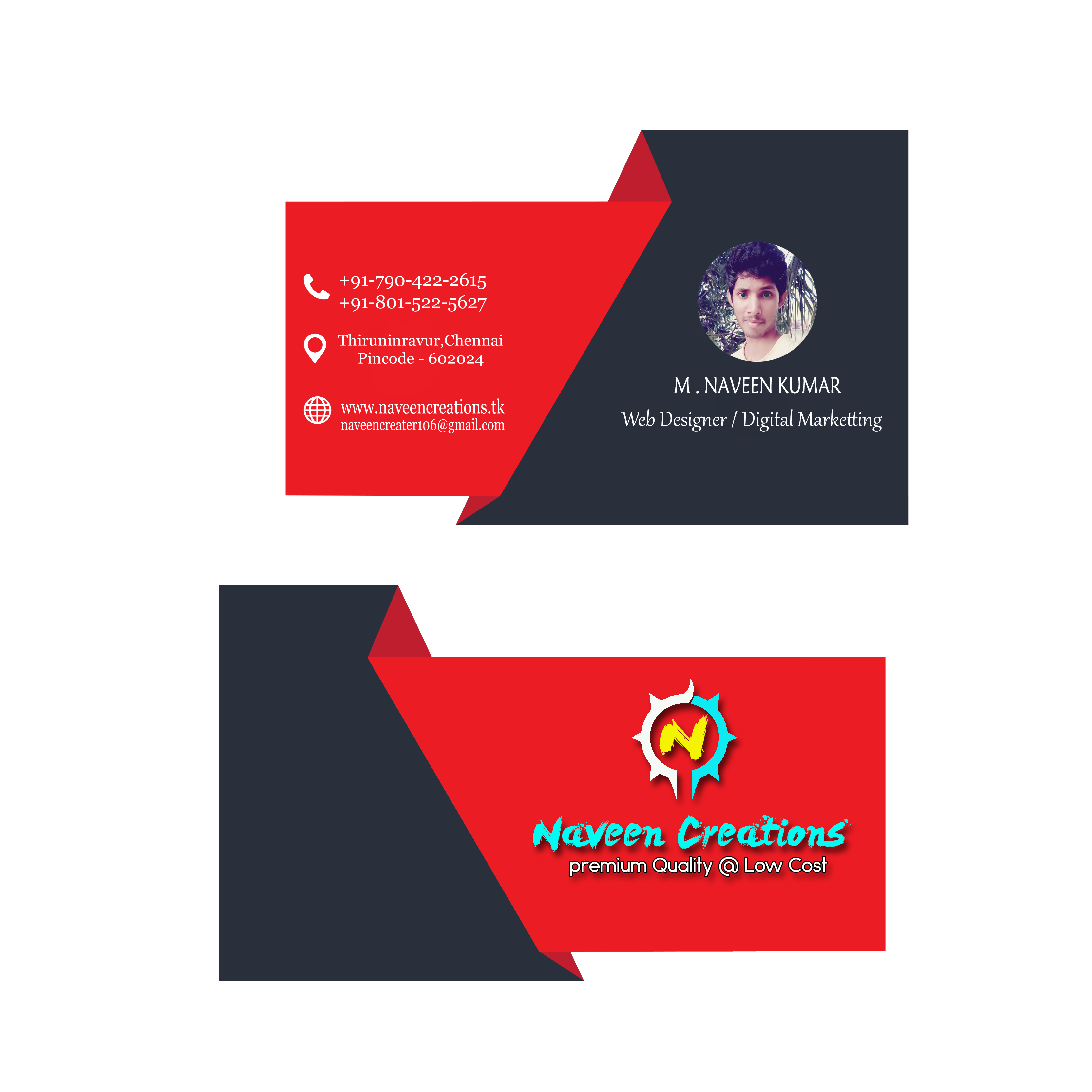 do Business Card and Flyers Designing