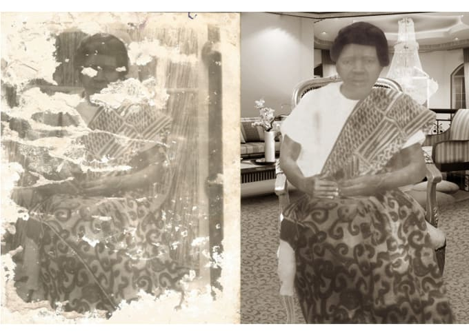 restore old damage photo, remove any stain, blemish (20)