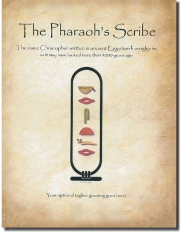 The Pharaoh's Scribe