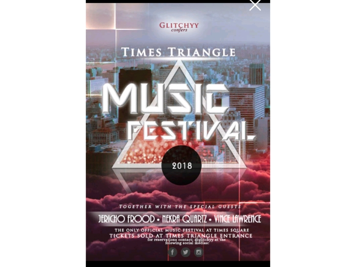 Make you a non-mediocre poster/flyer for your event