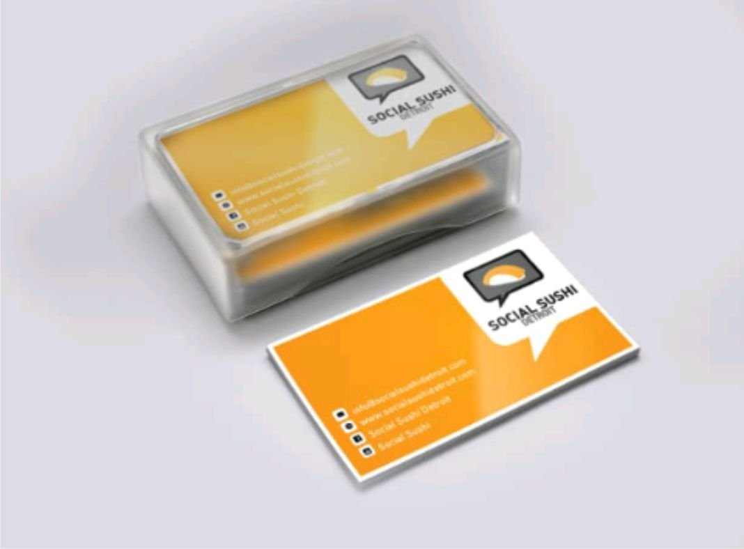 create an AMAZING Business Card in 6 hours