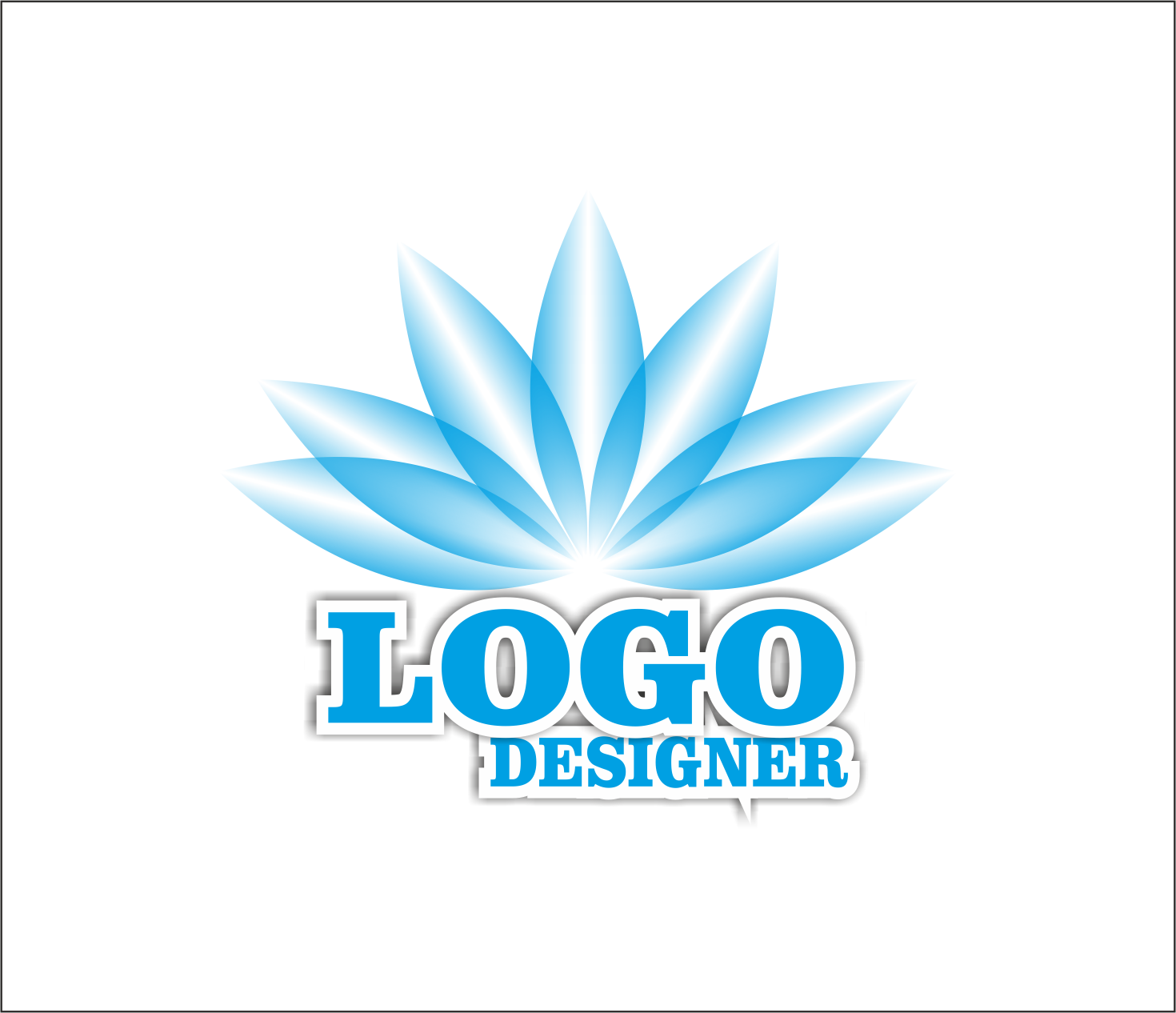 logo designing, Text Designing, Business Card Designing