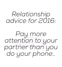 Give you relationship advice