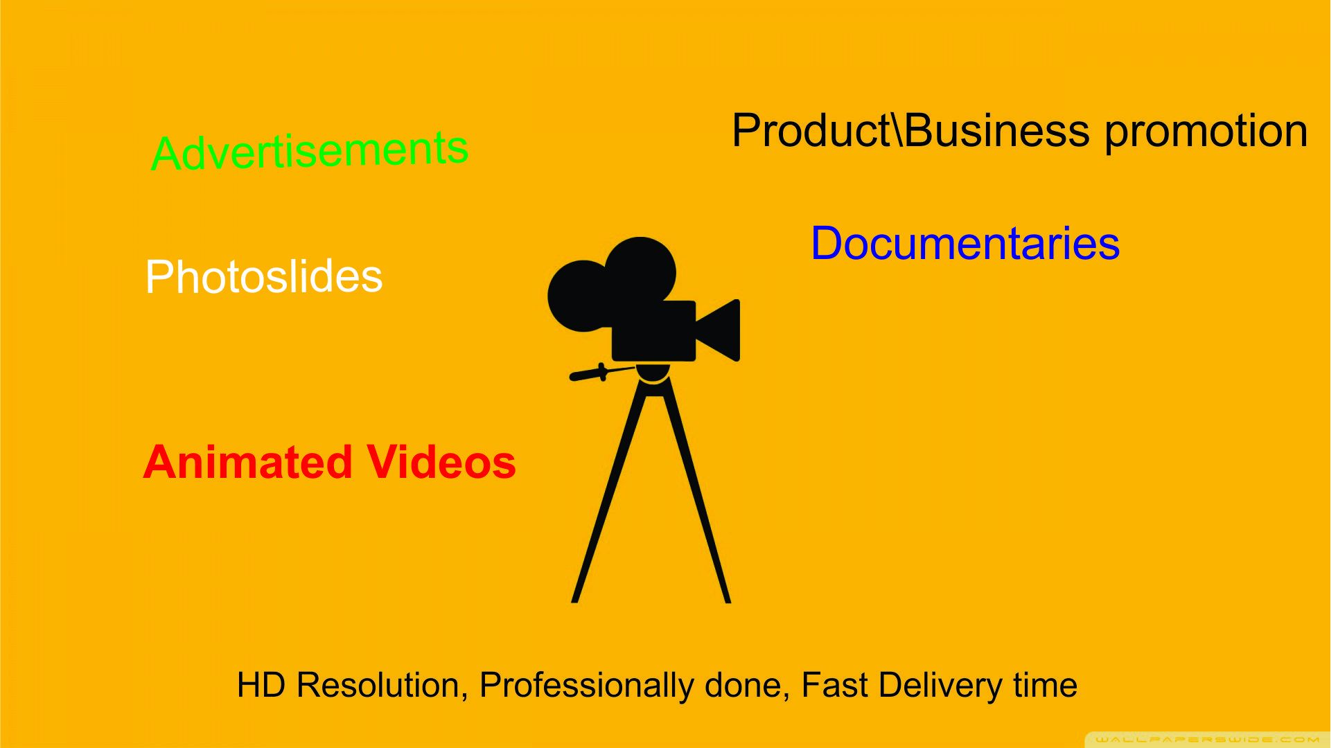 edit and creat HD quality Videos for you.