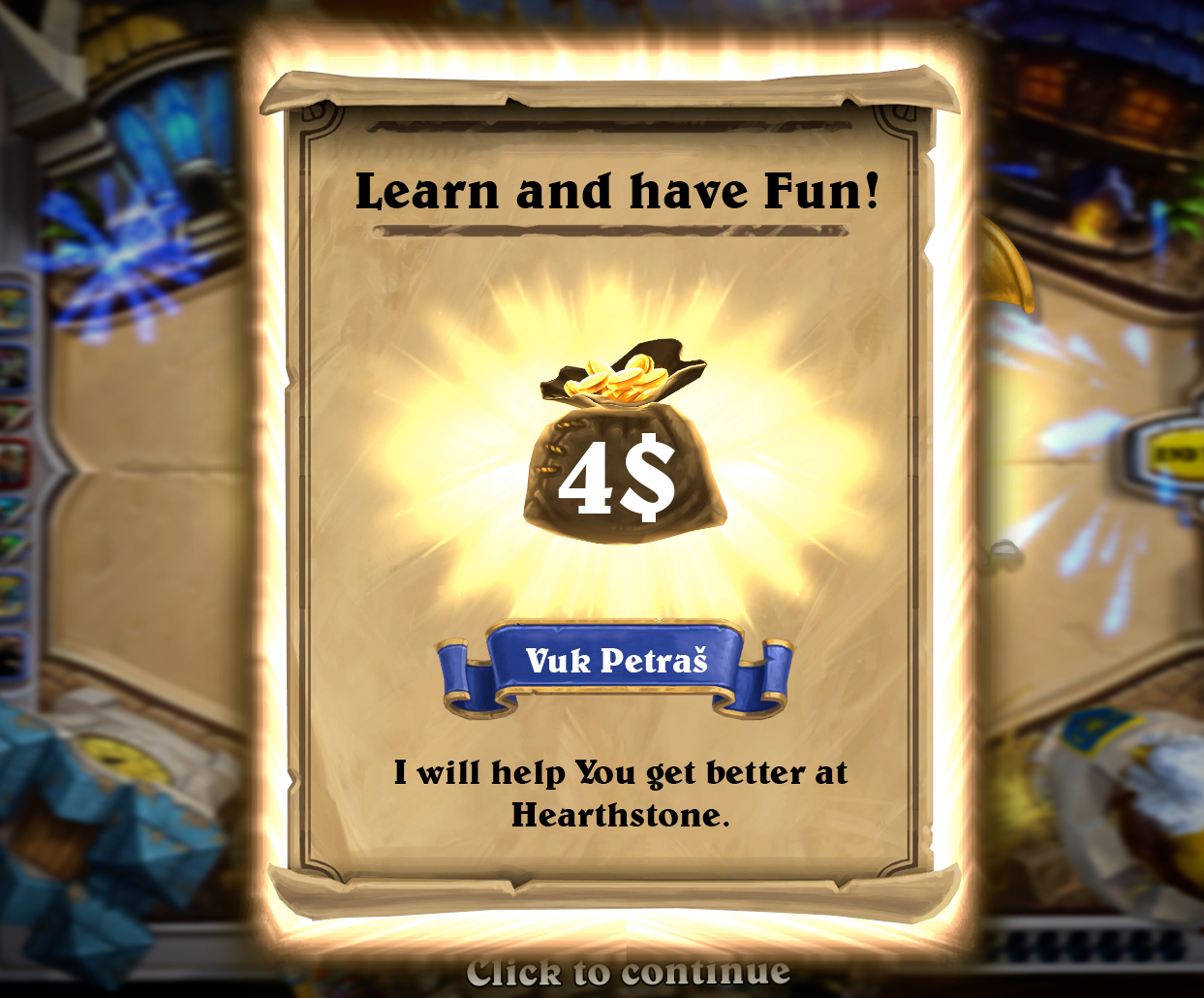 Help You Get Better At Hearthstone