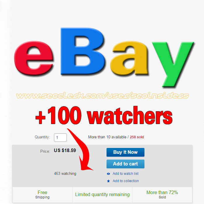 Add to watch 40 to your eBay store