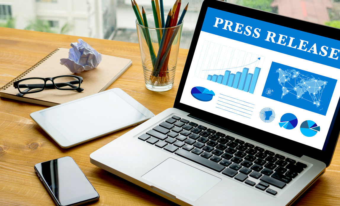 write a professional press release and distribute it to top 20 press release networks