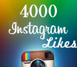 give Instagram 4000 LIKES Instant Fast Non Drop