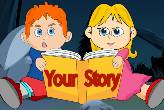 animate and read your own story or message