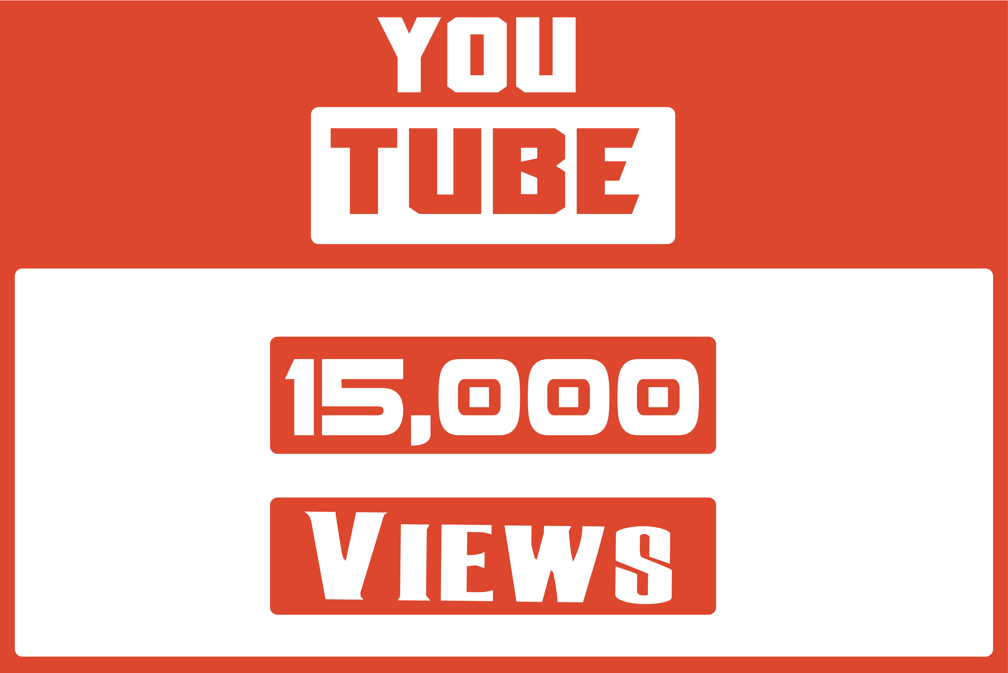 I Will Add 15,000 Real Youtube Video View