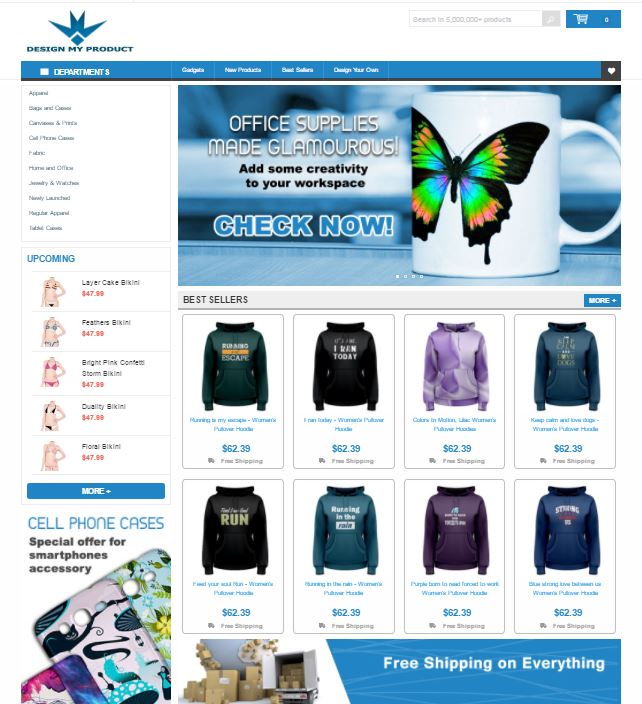 Build You A Ready Automated Drop Shipping Website With More Than 5M Products