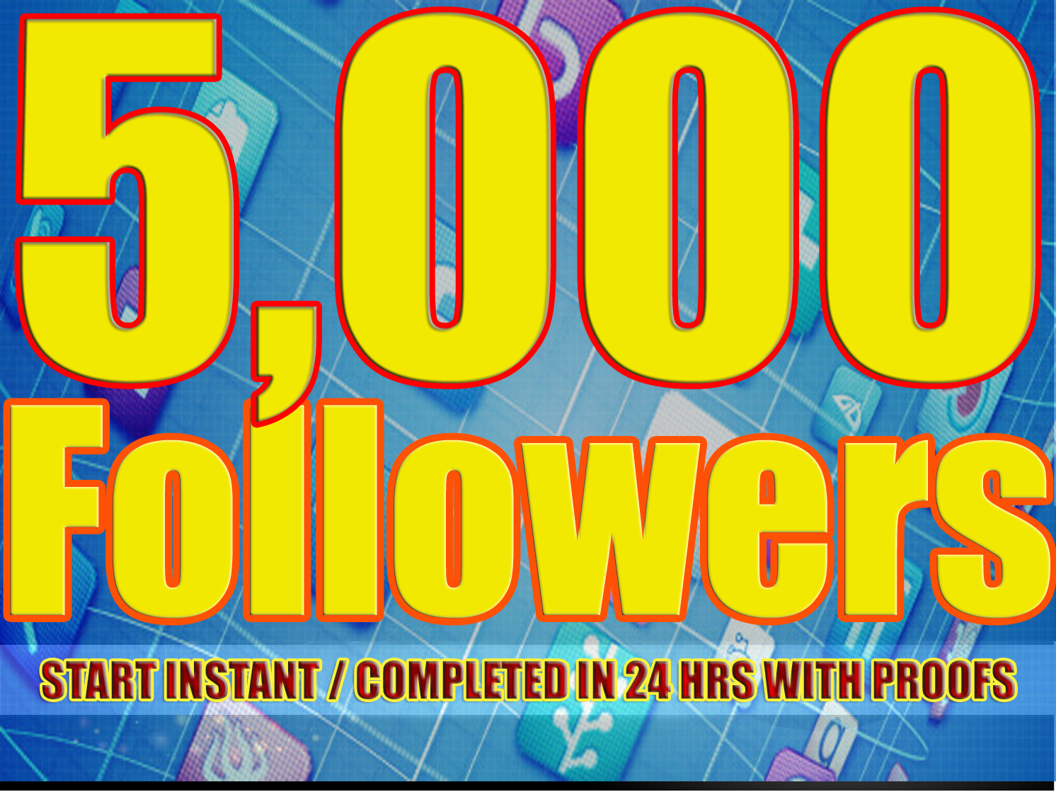 Provide 5000 Solid Twitter Followers