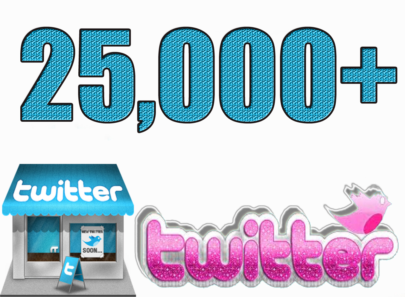 Provide 25,000 Solid Twitter Followers