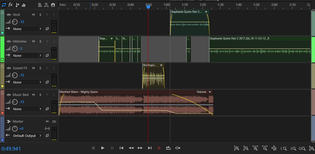 edit your audio podcasts up to 30 minutes and add your intro and outro and your choice of music