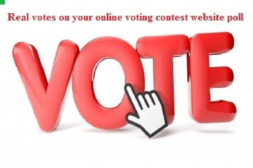 Give You 100 Vote online voting contest