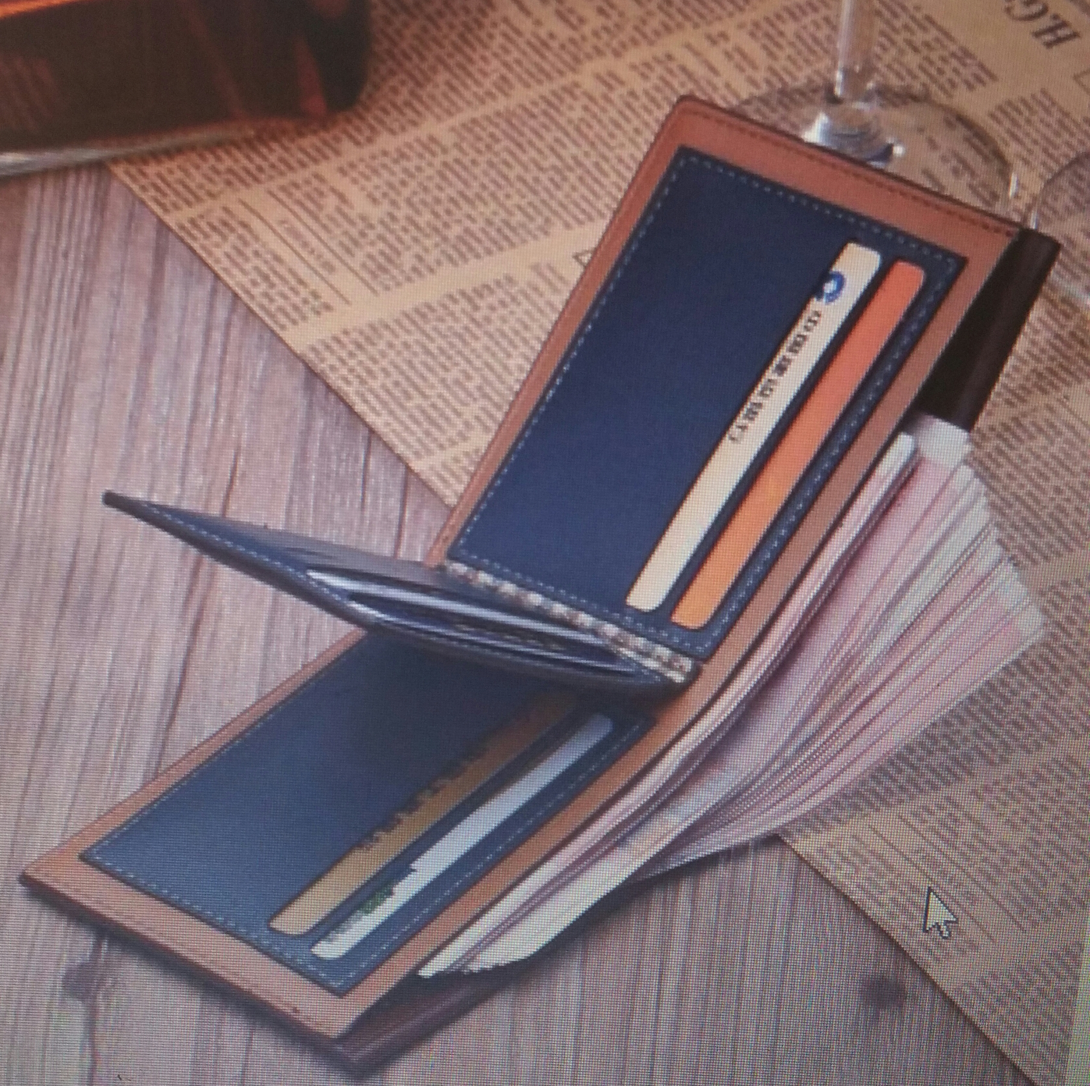 sell you a mens leather wallet