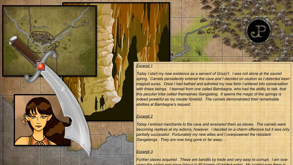 create an original dungeons and dragons roleplay quest