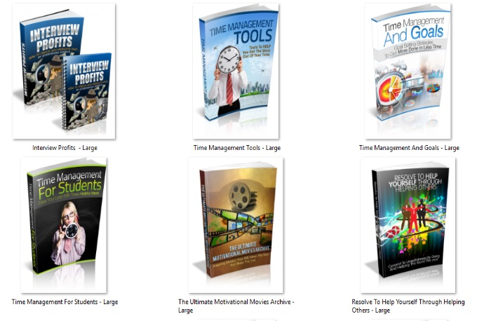 give you 100 Self Help Ebooks that will help you realize your full potential and develop your mind, body & soul