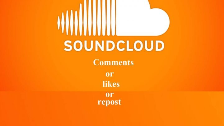Manually high quality 100 real USA soundcloud comments or repost or likes